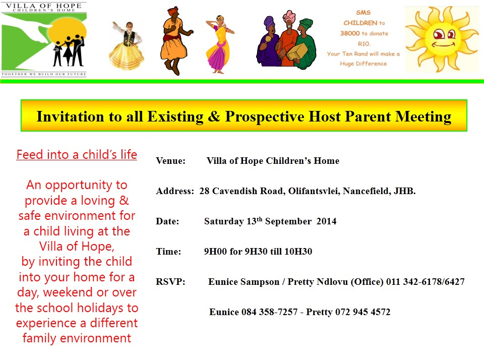 2014 hosting parent meeting sept